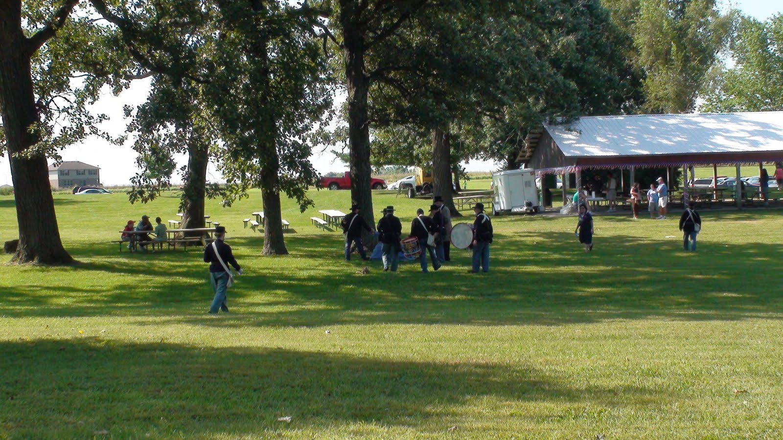 Illinois will county manhattan - Photo Of Activities At The Manhattan Park District Days Of Old At The Baker Koren Round Barn Farm Park