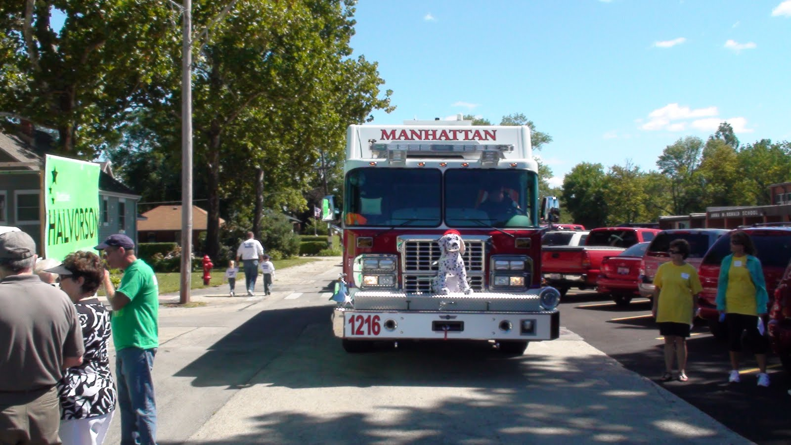 Illinois will county manhattan - The Manhattan Fire Department Prepares To Lead Off The Parade
