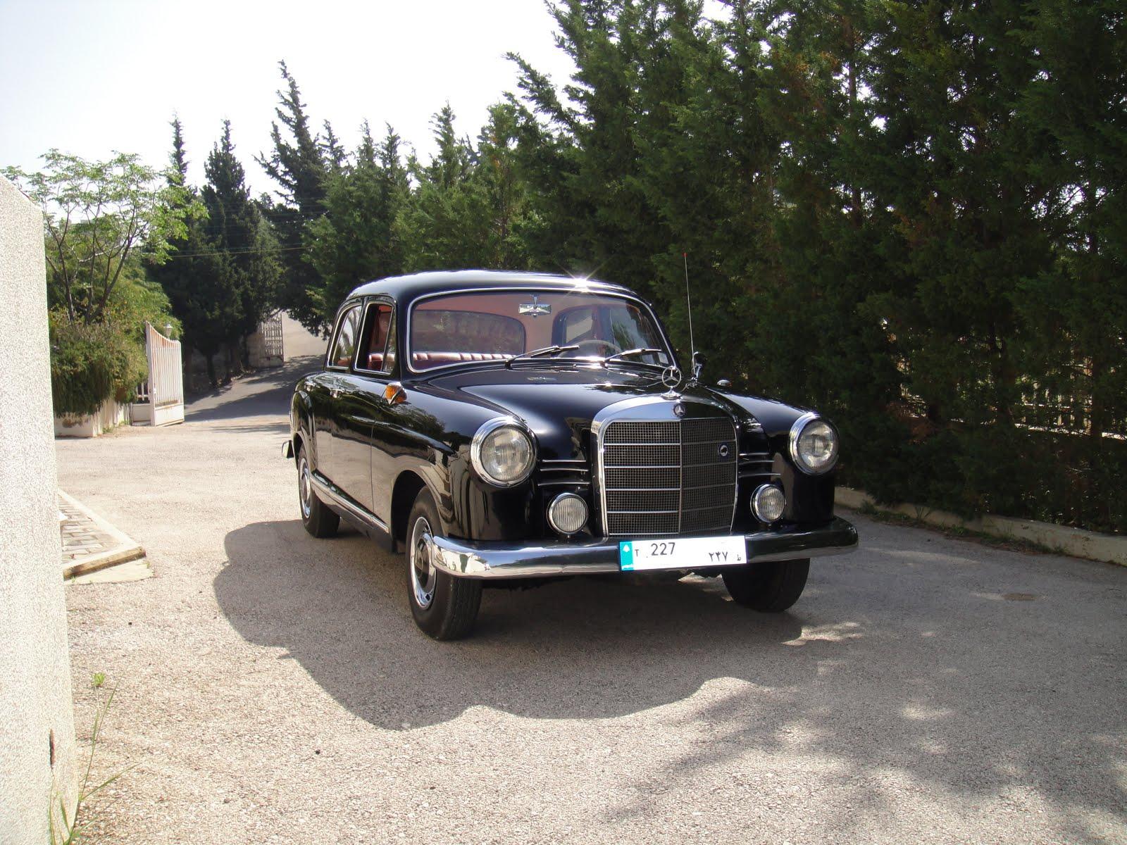 my classic Mercedes-Benz