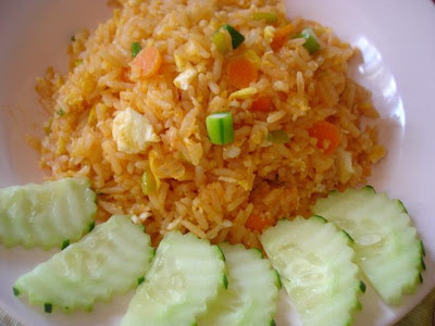 CHILLI SAUCE FRIED RICE