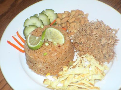Roasted chilli paste fried rice
