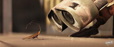 wall-e a šváb