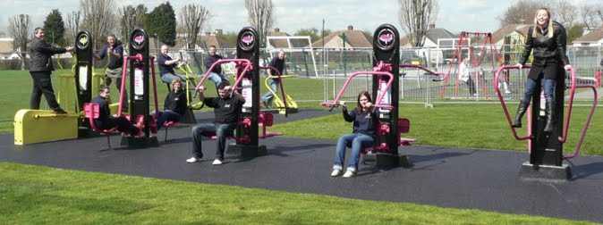 Now Im Unsure About These Outdoor Gyms The One In Charlton Park Does Seem Popular But I Still Think That Childrens Playgrounds Would Be Better Used
