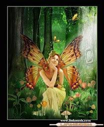 Hada mariposa, de los premios de mi blog