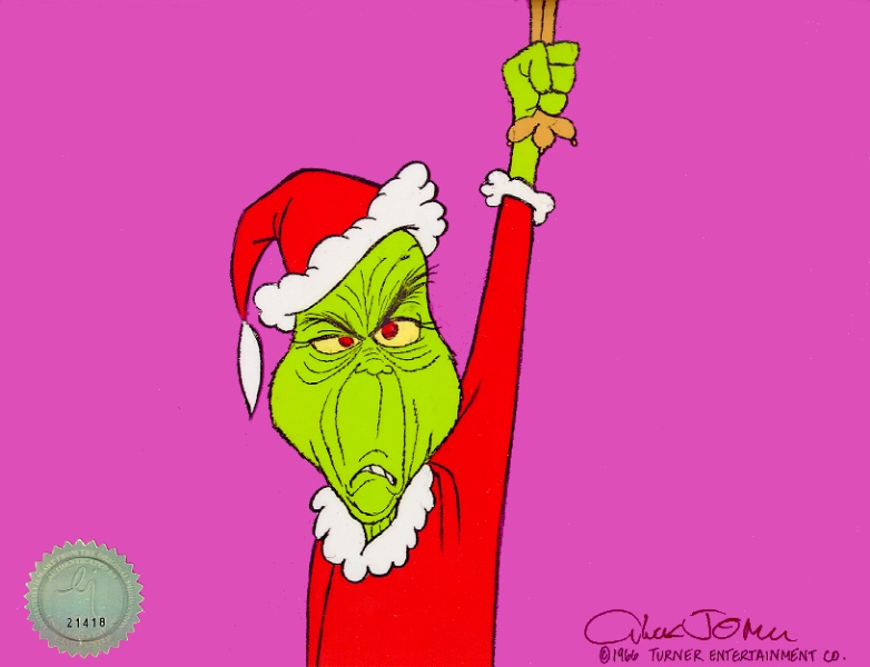 Greench How The Grinch Stole Christmas The Grinch Mrs Grinch Bald