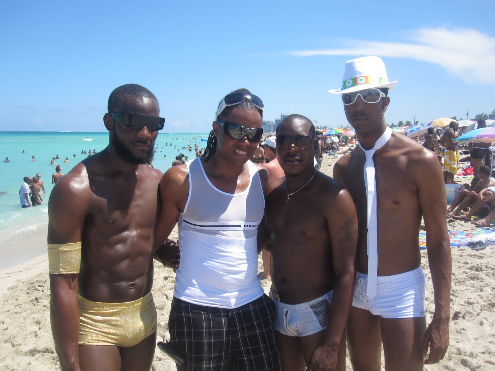 beach party at haulover beach fl warning some pics contain nudity to