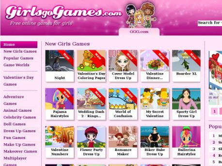 ggg games for girls