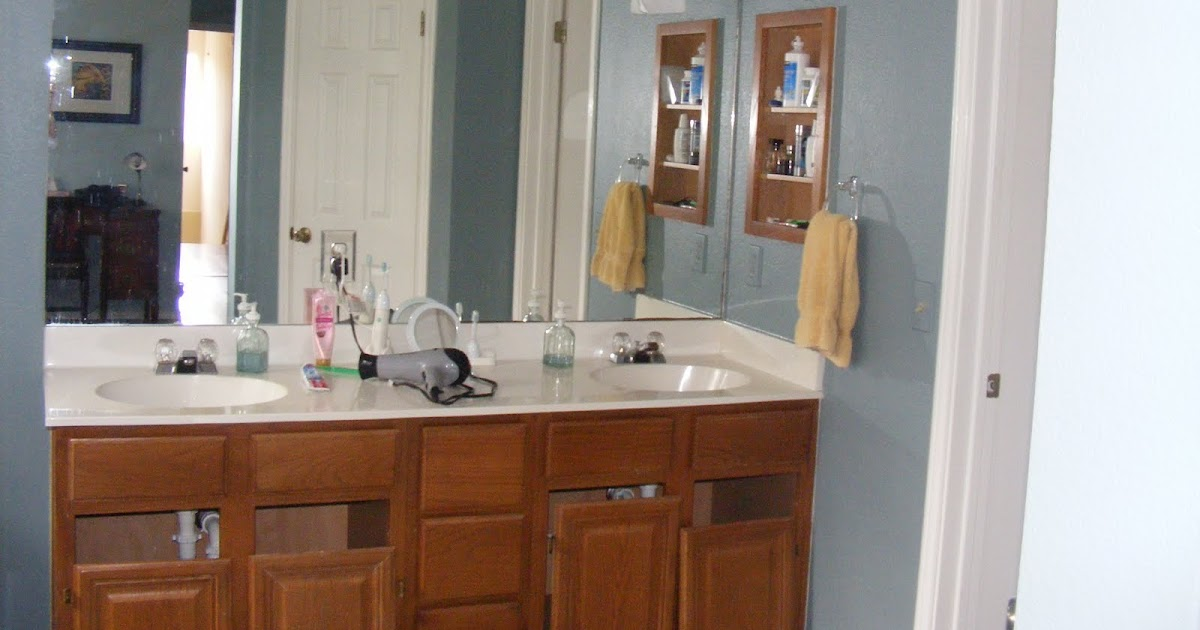 Red 39 S Rave How To Strip And Paint Your Bathroom Vanity