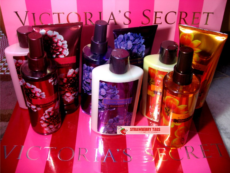 Strawberry Tags Victoria 39 S Secret Secret Garden Collection Midnight Garden Collection