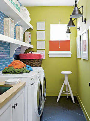 Best Interiors: Colorful Laundry Room Interior Design Inspirations