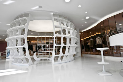 Best Interiors: The ALV Showroom Interior by Fabio Novembre