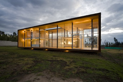 Korean House The Glass Box X House By Arquitectura X