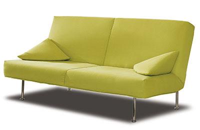 A simple sofa bed from Espacio