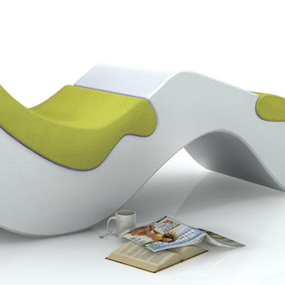 Chaise Longue AR1 by Arthur Rottier