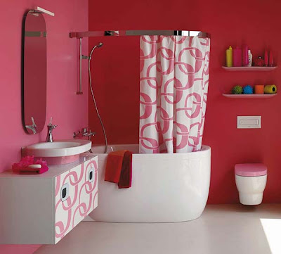 Modern Pink Bathrooms Ideas from Laufen