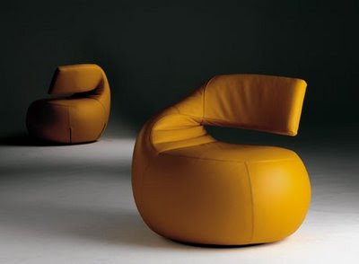 Revolving Armchair Inspiration from Leolux - Gisa