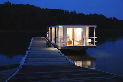 The MetroShip Contemporary Luxury Houseboat