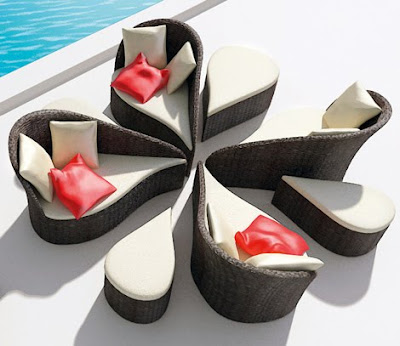Modern Furniture Affordable on Modern Asian Inspired Patio Furniture By Balance Modern Patio