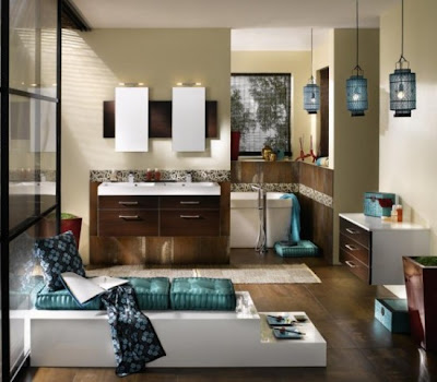 By see these picture below  you will realize that the luxurious is about  the lifestyle  Each bath area created in principle on a focus theme where  the. Korean House  Luxurious Bathroom Collection from Delpha