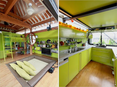 Traditional Korean House Design with Modern Interior Design Ideas
