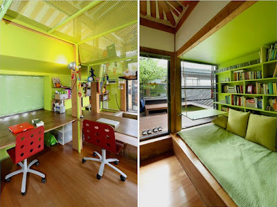 Traditional korean house design with modern interior for Korean bedroom design