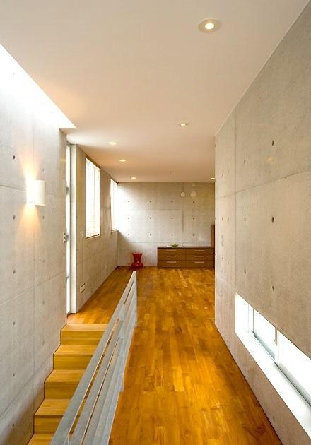 Korean interior japanese minimalist townhouse design by for Japanese minimalist house interior