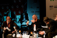 Gert Van Mol moderating at The Future of Europe Summit, Andorra, 20-11-2009