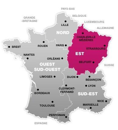 K-classroom: La géographie française selon la SNCF