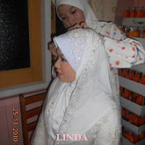 TUDUNG LACE PUTIH LINDA