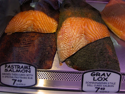russ and daughters pastrami salmon and gravlax salmon