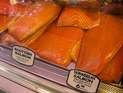 russ and daughters scottish salmon and norwegian salmon