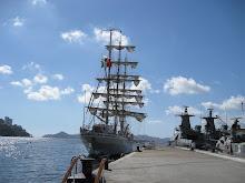 El buque Escuela de la Naval