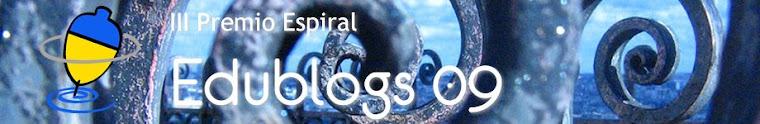 Premio Edublogs 2009. Ciberespiral