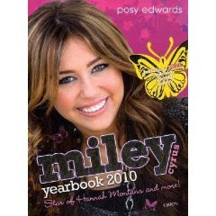 miley cyrus yearbook