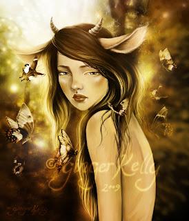 Fawn in Autumn Light