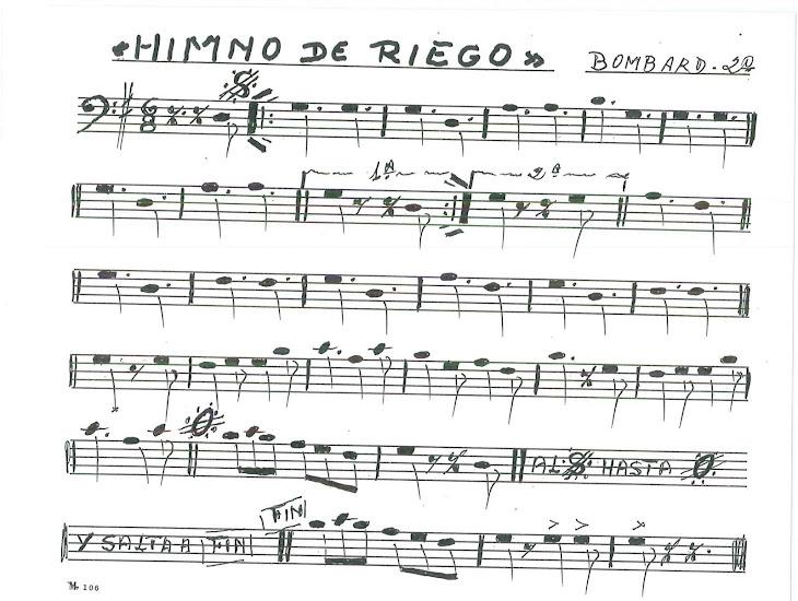 himno Riego bombardino 2º