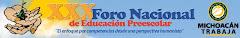 Talleres en el XXX Foro Nacional de Educación Preescolar en Morelia Michoacan