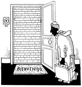 EN EL 2010 NO PODES ANDAR PENSANDO EN FRONTERAS, EN DIFERENCIAS ENTRE EXTRANJEROS-
