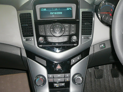 Chevrolet Cruze Stereo System