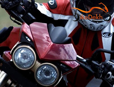 Mahindra Diablo Headlight view