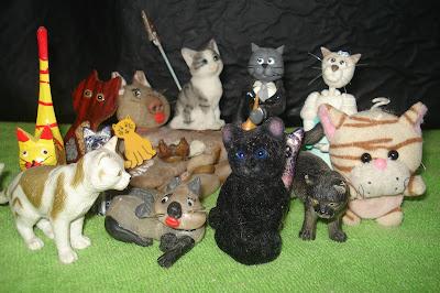 Gatinhos de brinquedo