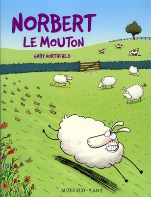 Norbert le Mouton aka Derek the Sheep