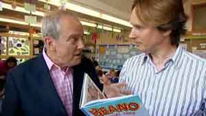 Giles Brandreth and Kev F Sutherland on The One Show
