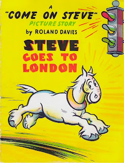 Steve Goes to London by Roland Davies