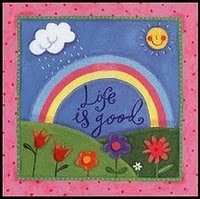 The LIFE IS GOOD BLOG AWARD