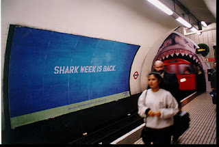 Discovery Channel Shark Week underground London