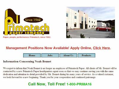 Primatech paper company