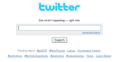 UK election Twitter Trends results night 0000