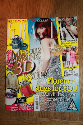 Grazia Augmented Reality cover