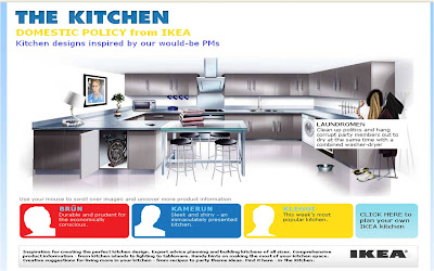 David Cameron IKEA kitchen
